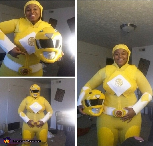 Mighty Morphin Yellow Ranger Costume