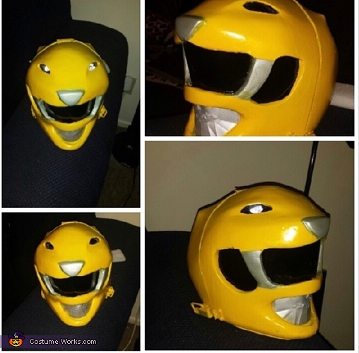Completion!, Mighty Morphin Yellow Ranger Costume