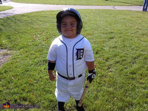 Miguel Cabrera of the Detroit Tigers Halloween Costume