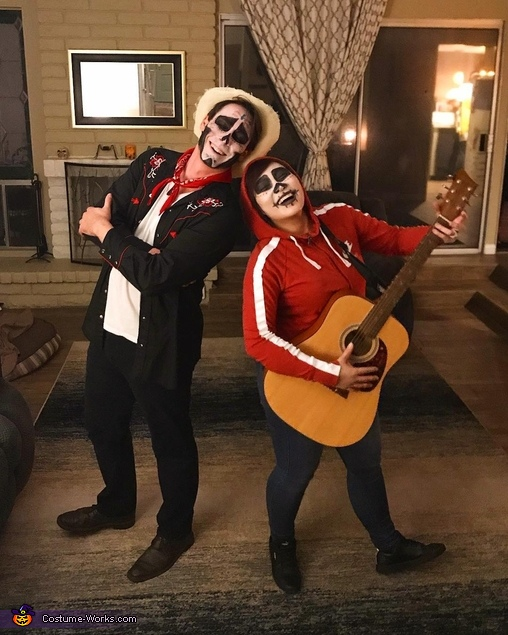Miguel & Hector from Disney's Coco Homemade Costume