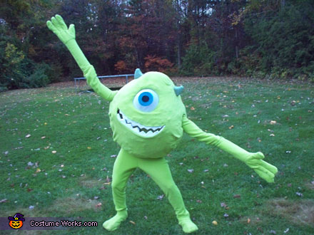 Mike Wazowski - Homemade costumes for adults