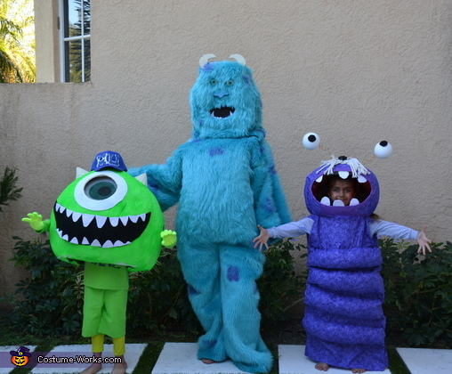 Monsters Inc, Mike Costume