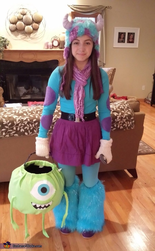 Mike and Sulley Costume
