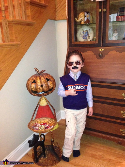 Mini Mike Ditka, Mike Ditka Costume