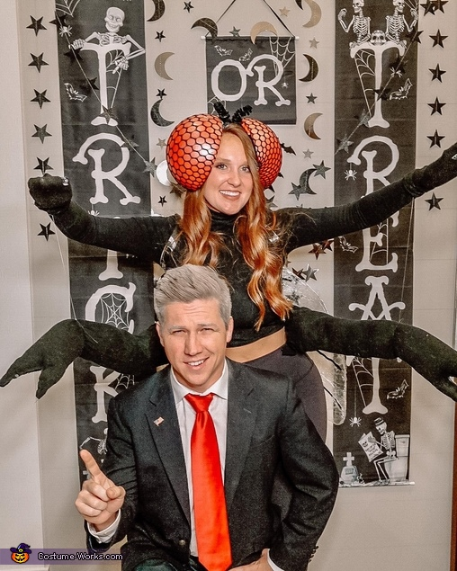 Mike Pence and Fly Costume