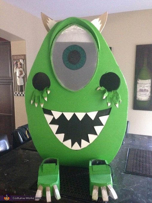 finished!!, Mike Wazowski Costume