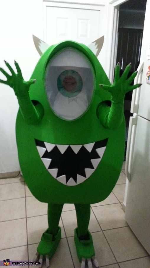 scary mike tony-waski, Mike Wazowski Costume