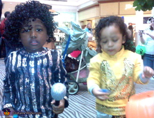 Michael Jackson(s) - Homemade costumes for boys