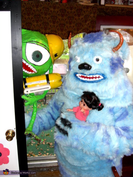 Mike and Sully Halloween Costume