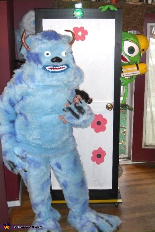 Monsters Inc. Mike and Sully Costume
