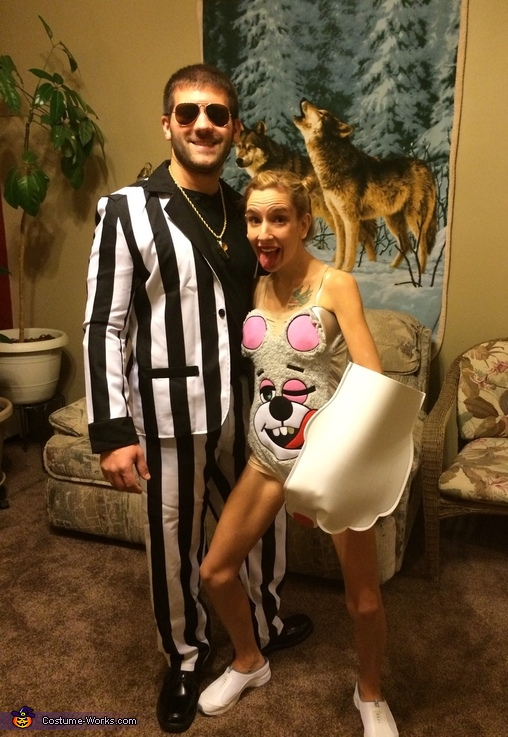 Miley Cyrus & Robin Thicke Couple's Costume