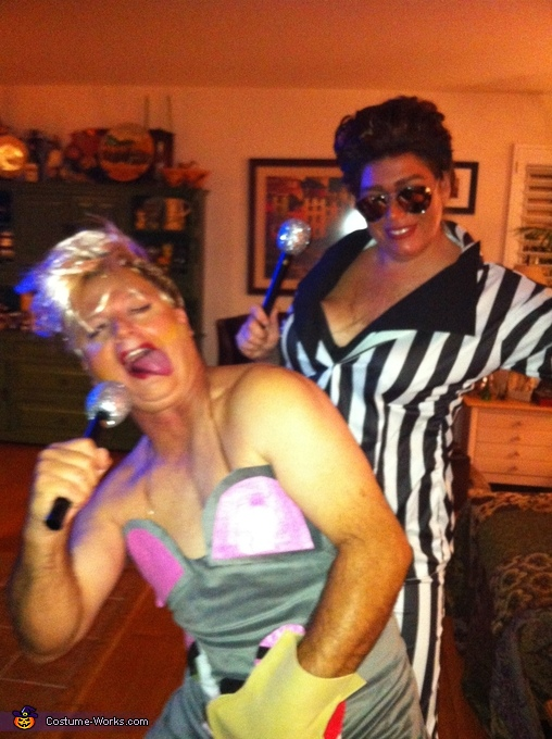 Miley with Robin Thicke Costume