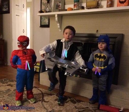 Super hero cousins & Millennium Falcon, Millennium Falcon Costume