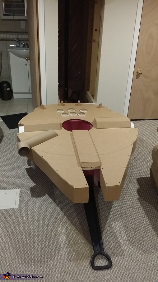 3d parts, Millennium Falcon Costume
