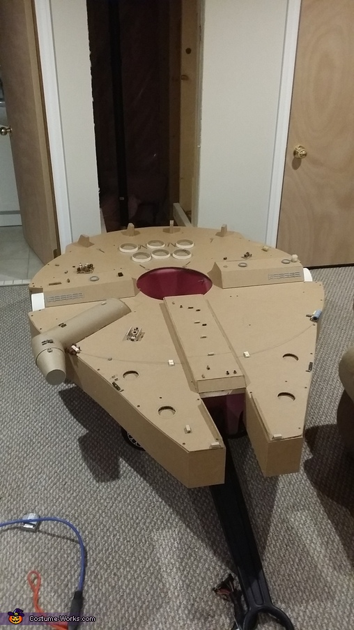 Gadgets added, Millennium Falcon Costume