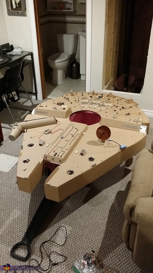 All Gadgets added, Millennium Falcon Costume