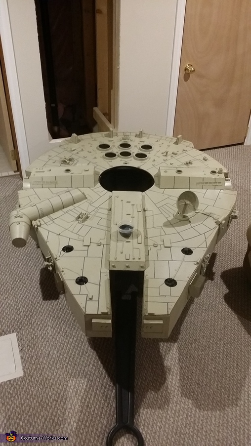 Base coat and armor detailing, Millennium Falcon Costume