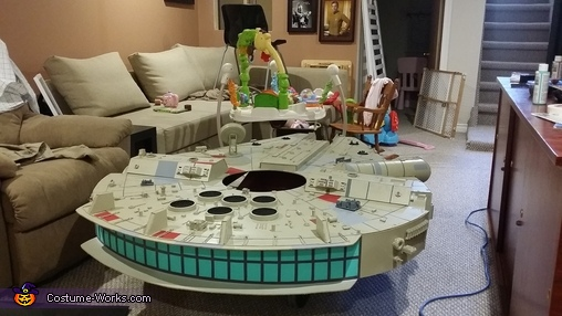 Finished back engine - FINISHED, Millennium Falcon Costume