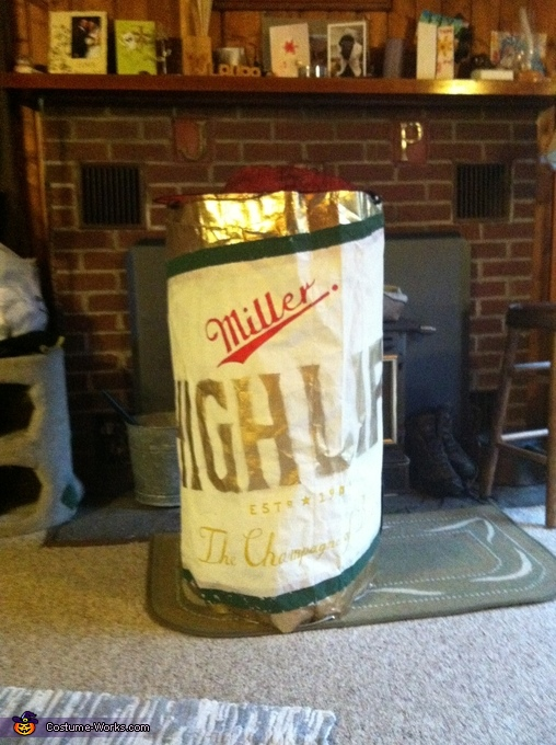 Miller High Life Beer Can , Miller High Life Beer Can Costume
