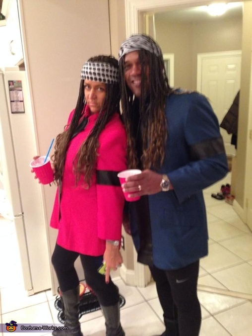 Homemade Milli Vanilli Costume