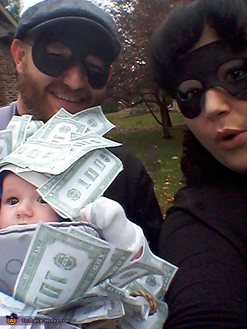 'Hope we don't get caught!', Million Dollar Baby Costume
