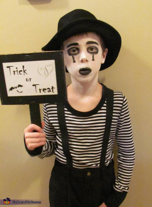 Mime - Homemade costumes for boys