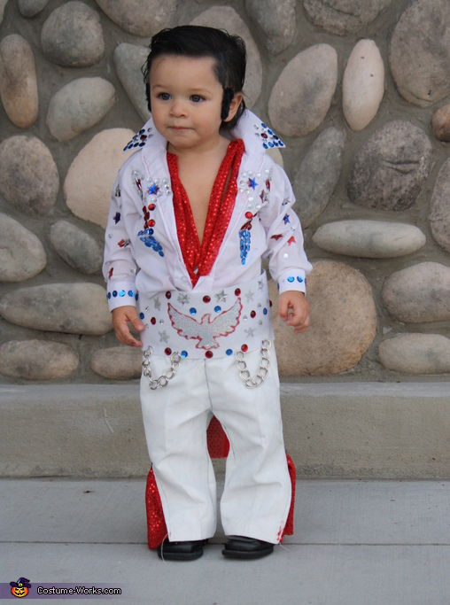 Minature Elvis Baby Costume