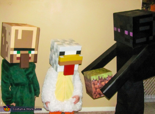 Minecraft Family Costumes
