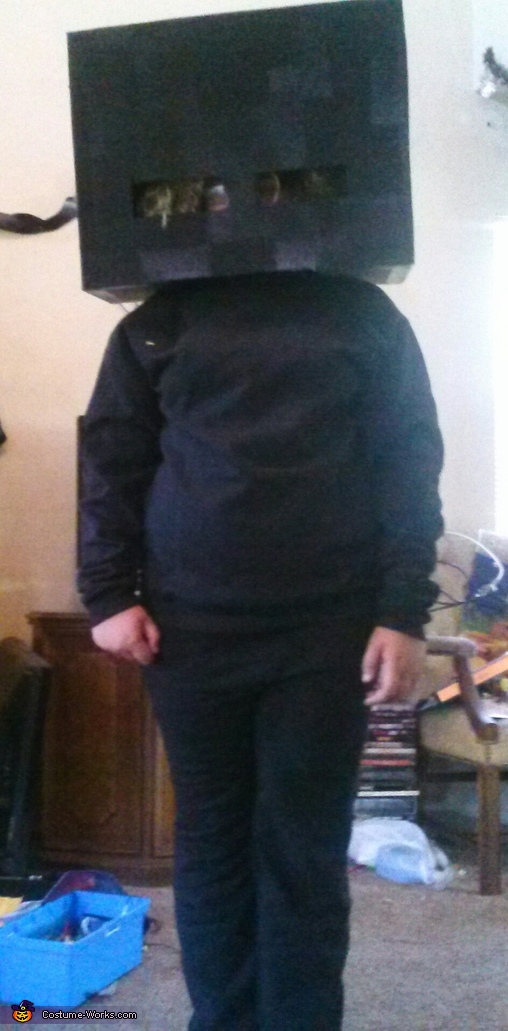 Enderman, Minecraft Family Costume
