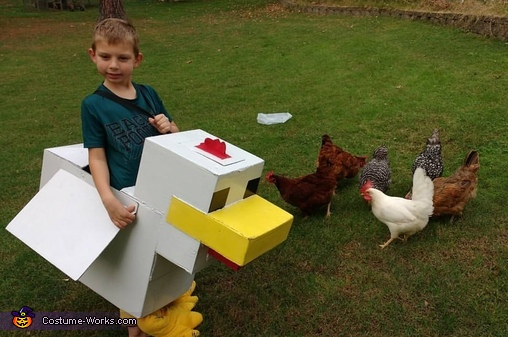 Minecraft Chicken Costume