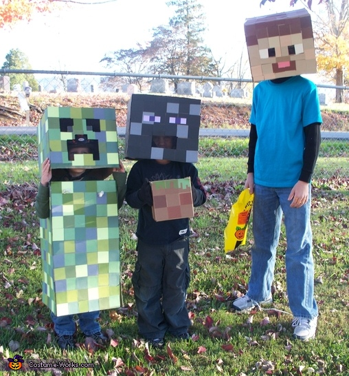 65 clever halloween costumes for kids diy minecraft costumes solutioingenieria Images