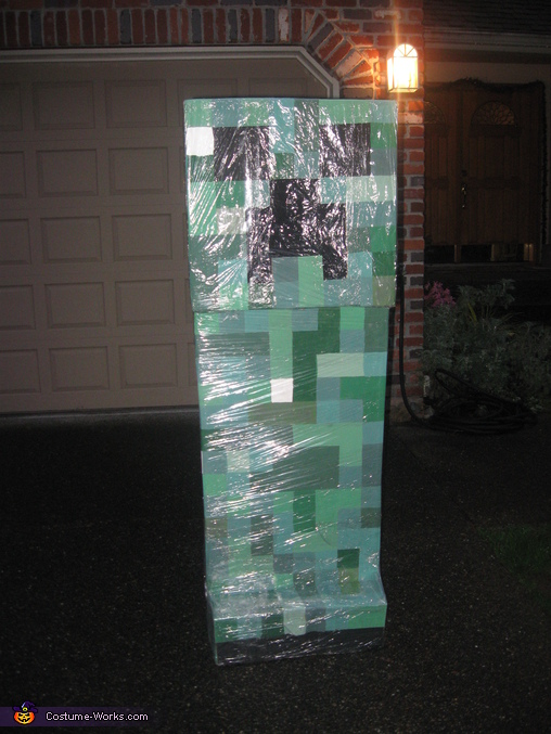 Minecraft Creeper - Homemade costumes for boys