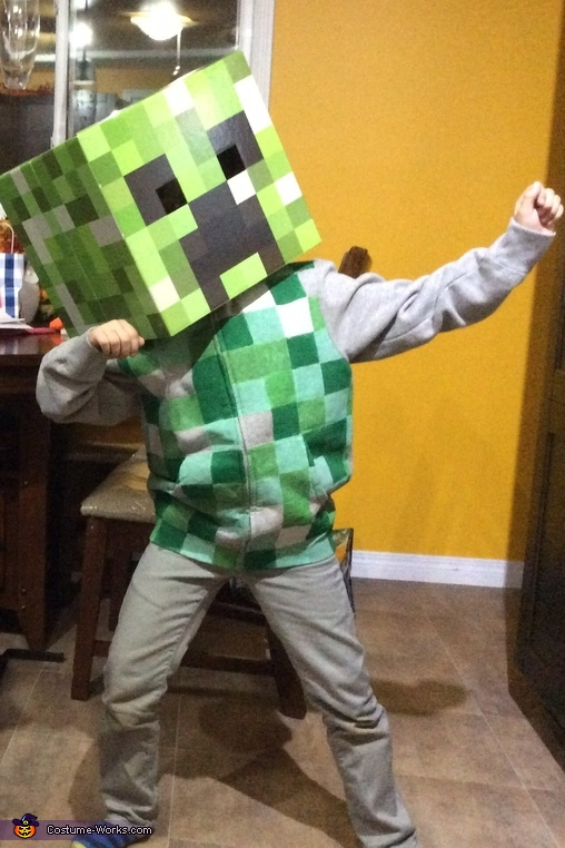 Minecraft Creeper Costume