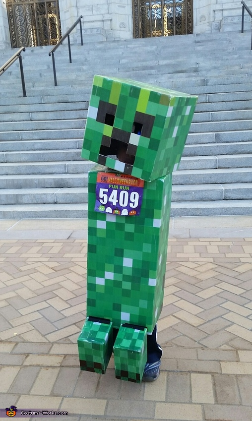 Minecraft Creeper Costume