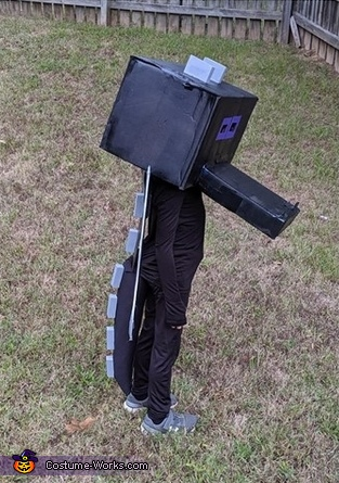 Minecraft Ender Dragon Homemade Costume