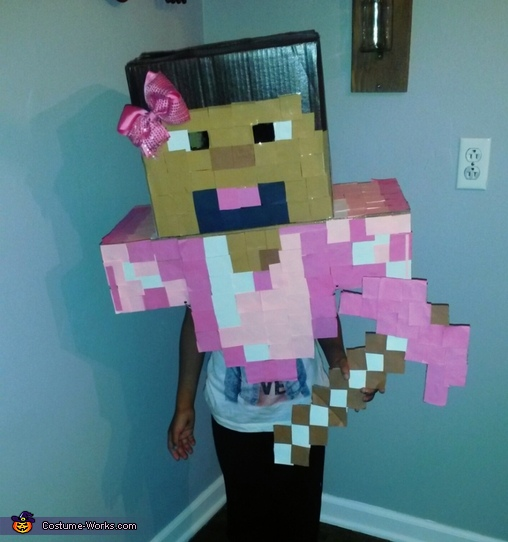 Minecraft Leah Costume