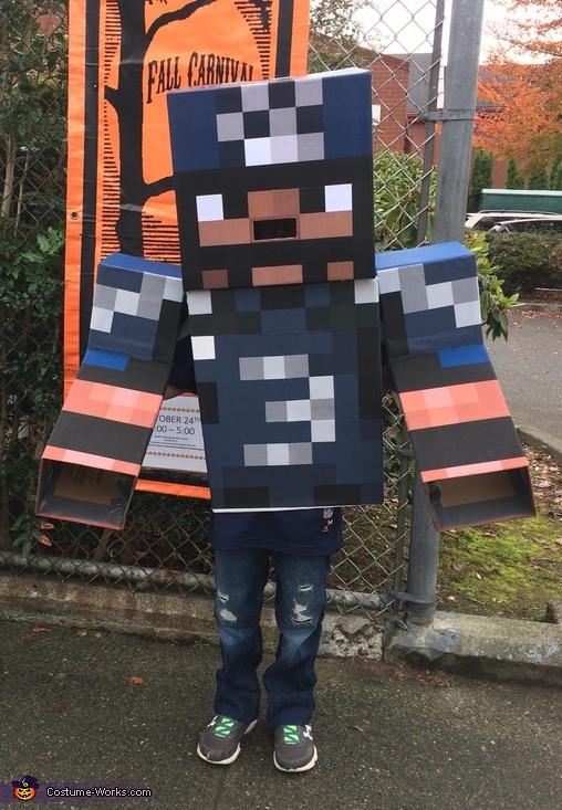 Minecraft Russell Wilson Costume