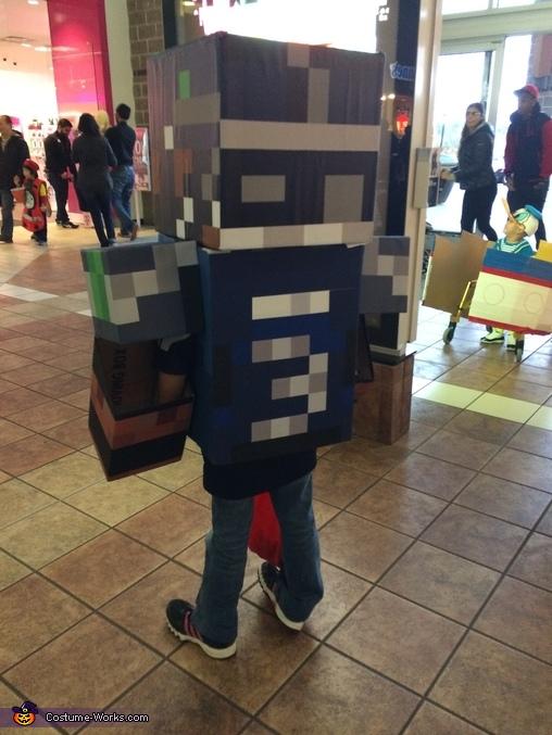 Minecraft Russell Wilson 3, Minecraft Russell Wilson Costume