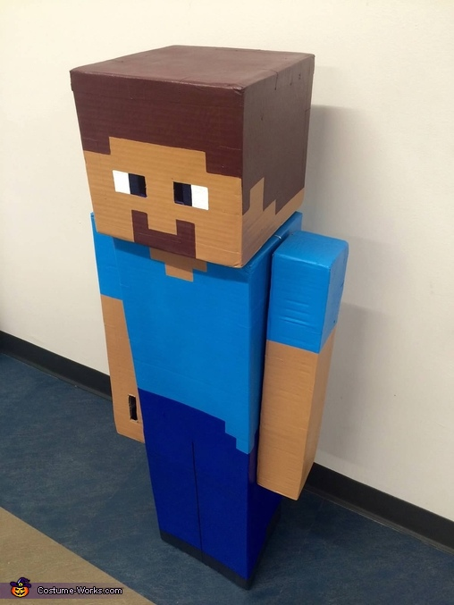 Minecraft Steve side view..., Minecraft Steve Costume