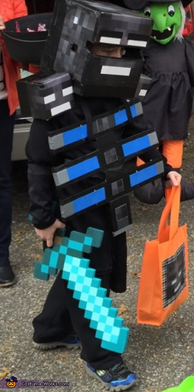 Minecraft Wither Boss Costume