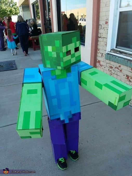Baby Zombie Minecraft Costume Ilmu Pengetahuan 2