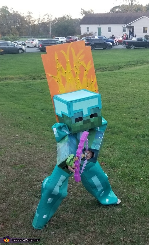 Minecraft Zombie Costume