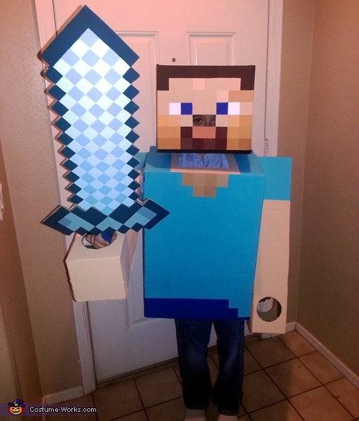 : minecraft costume for halloween  - Germanpascual.Com