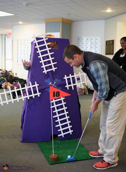 AThis guy wants a hole in one!, Mini-Golf Costume
