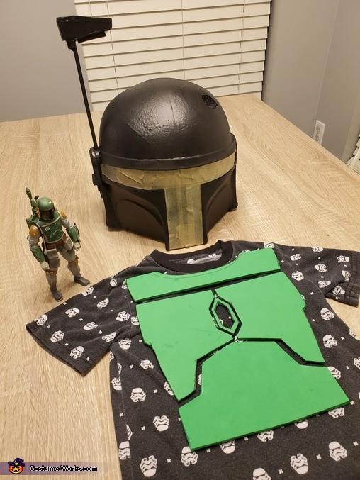 Mini Boba Fett Homemade Costume