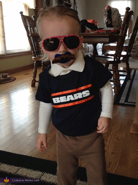 Mini Ditka Costume