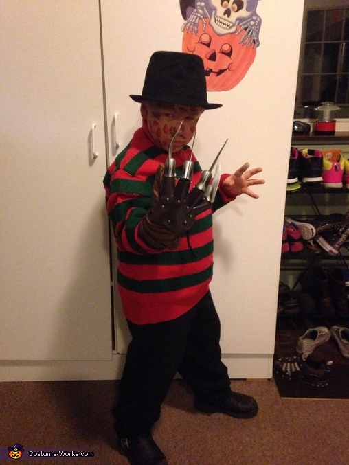 Mini Freddy Kreuger Costume