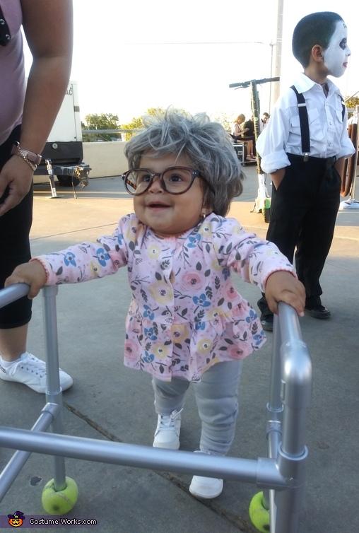 Mini Grandma Costume