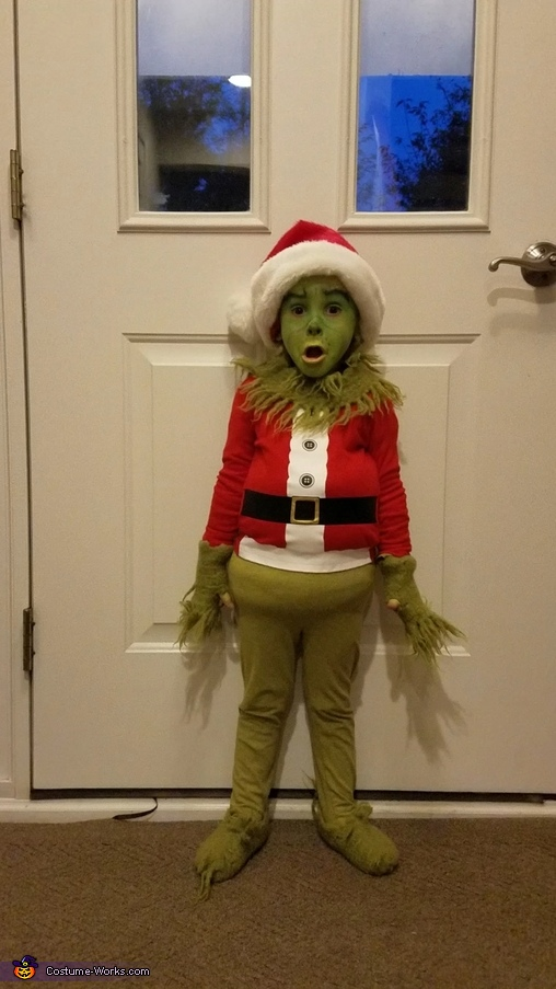 Surprised Grinch, Mini Grinch Costume