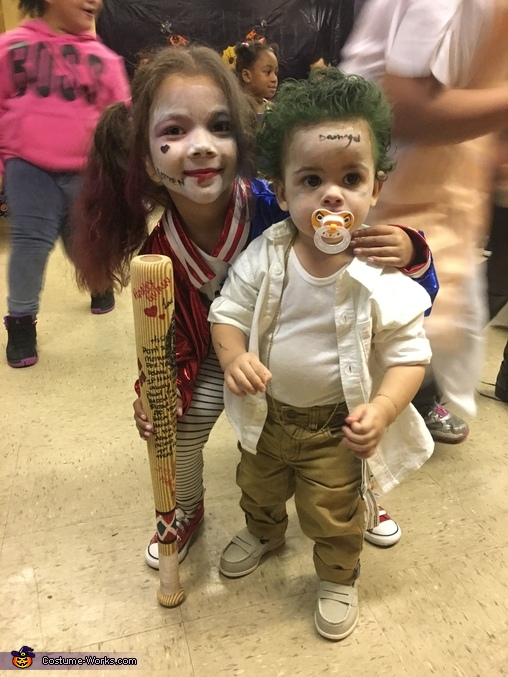 Mini Harley Quinn & the Joker Costume